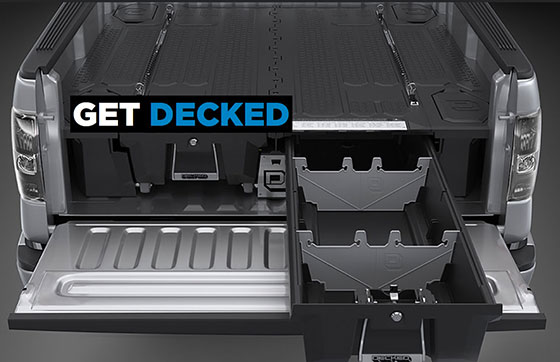 Decked storage systems